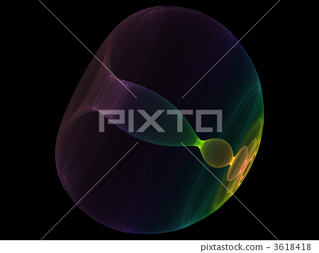 Abstract shape of lights 3618418