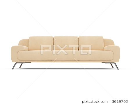 Couch over white 3619703