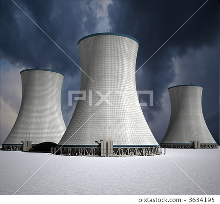 Nuclear power station 3634195