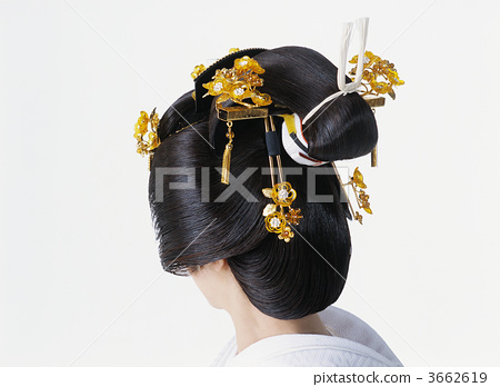 bunkin takashimada, bridal high topknot, bride 3662619