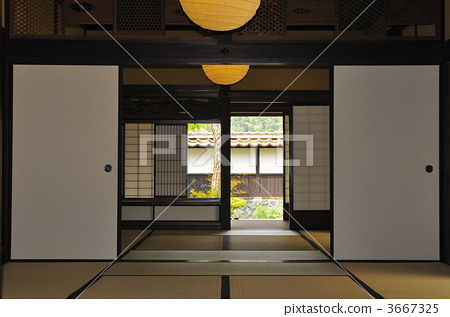 tatami mat flooring, japanese-style room, japanese traditional architecture 3667325