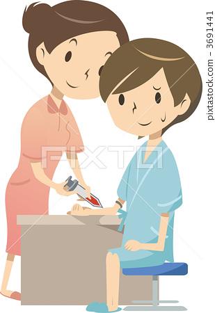 Blood sampling 3691441