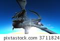 龍 屬龍 天空 3711824