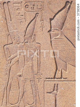 The obelisk of Queen Hatshepsut of the Temple of Karnak 3738364