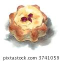 danish, pastry, sweet 3741059