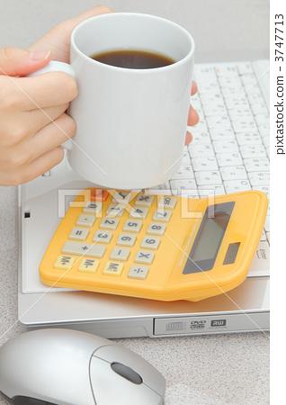 커피 계산기 키보드 마우스 3747713
