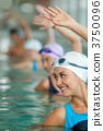 Women in a swimming pool 3750096