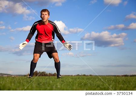 Football goalkeeper 3750134