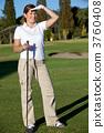 Female golf player 3760408