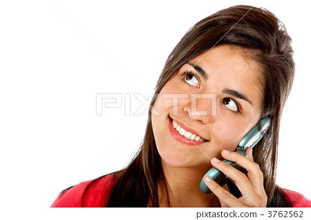 Girl on the phone 3762562