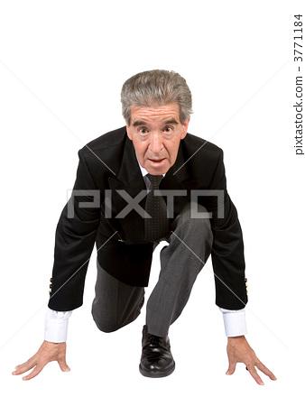 start your business - senior in race position 3771184