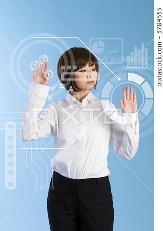 it, female business person, female 3784555