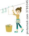 家庭主婦要洗 3786045