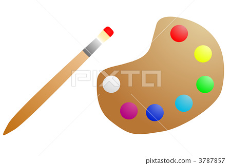 Painting material 3787857