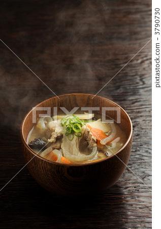 pork soup, soup dish, japanese food 3790730