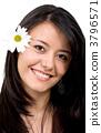 Casual woman portrait 3796571
