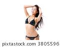 수영복 젊은 여성 3805596