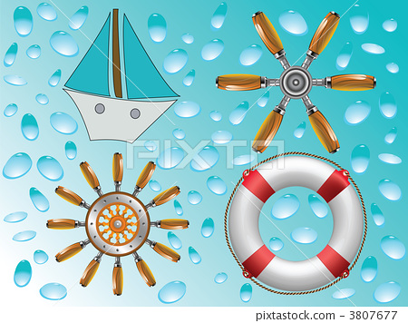 nautical icons collection 3807677