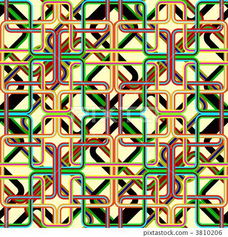 retro stripes pattern 3810206