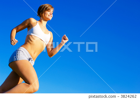 Fit Young Woman Working Out 3824262