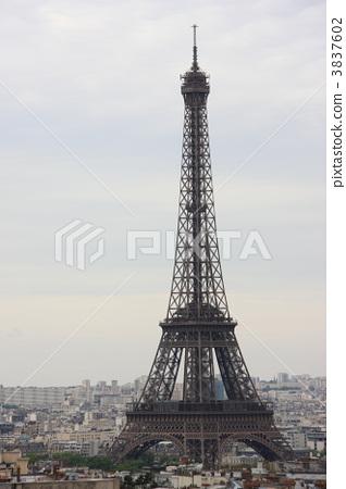 에펠 탑 3837602