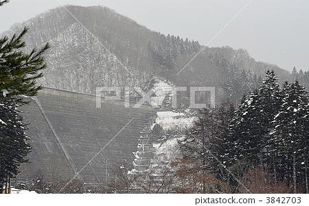 설산, 산, 상고대 3842703