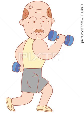 健身 哑铃 重量 3848061