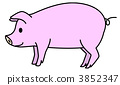 豚 3852347