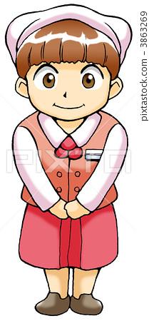 Employee (female) 3863269