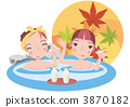 A hot-spring trip with a friend 3870182