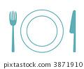 刀具 餐桌布置 小刀 3871910