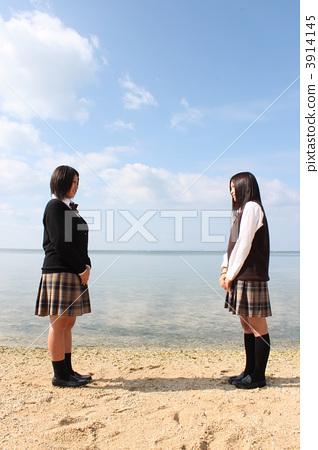 high school student, high-school student, high school girl 3914145