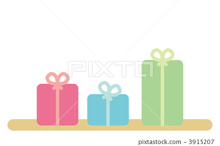 present, packing, illustration 3915207
