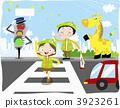 人行橫道 較年輕 兒童 3923261