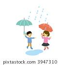 傘 小孩 小朋友 3947310