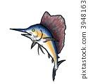 marlin, sailfish, spearfish 3948163