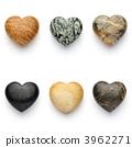 หินรูปหัวใจ 3962271