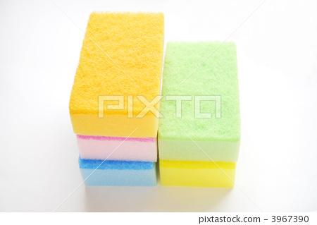 Colorful sponge 3967390