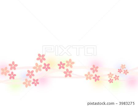 Cherry blossom illustration 3983275