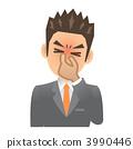 Businessman B cold eye strain 3990446