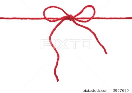 Tied yarn 3997659