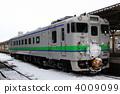 Ordinary train bound for Shiranuka 4009099