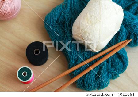 Knitting Handicrafts Craft Stock Photo 4011061 Pixta