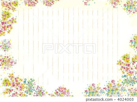 Letter paper writing paper flower stock illustration 4024003 letter paper writing paper flower 4024003 mightylinksfo