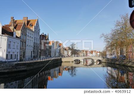 Brugge (Belgian) Cityscape Landscape 4063912