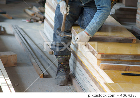 Concrete formwork construction 4064355