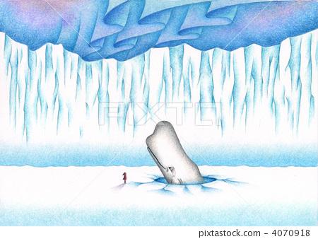 鯨魚 數字動畫 醫療插圖 4070918