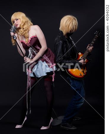 couple of musician - anime cosplay character 4094032
