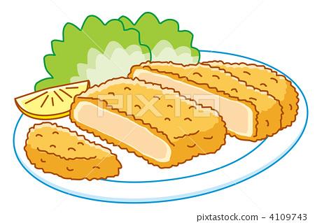 Tonkatsu 2 (chicken cutlet) 4109743