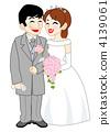 结婚礼服 婚纱 新郎 4139061
